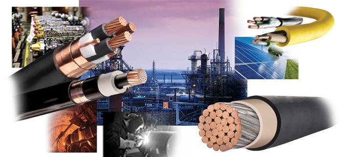 انواع کابل برق صنعتی