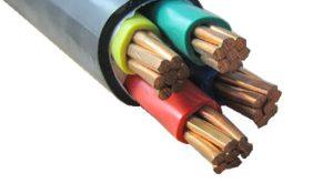 کابل برق چهار رشته
