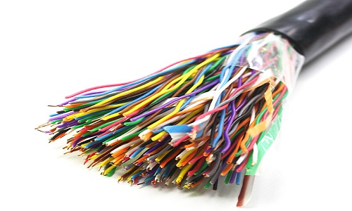 کابل تلفن 100 زوج مشکی