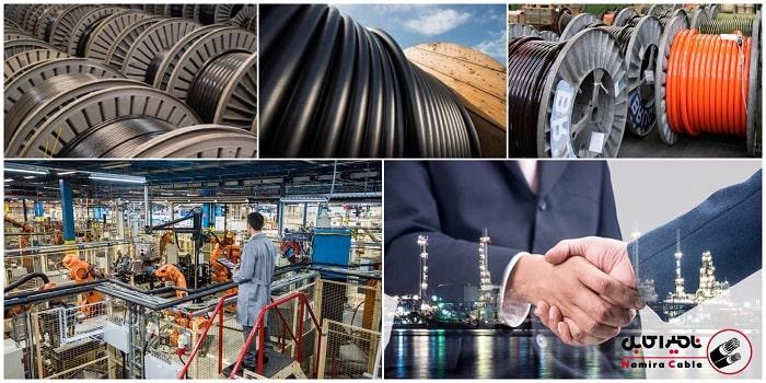 تامین کابلهای برق صنعتی