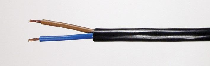 کابل برق 2 در 1