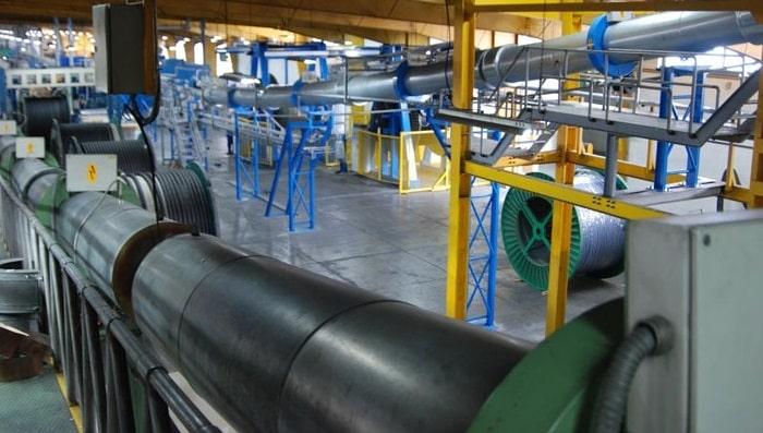 خط تولید کابل فشار قوی