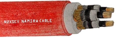 کابل بدون آرمور فشار متوسط