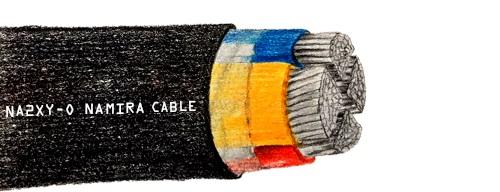 کابل بدون زره فشار ضعیف