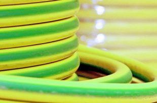 قیمت سیم ارت مسی سبز و زرد