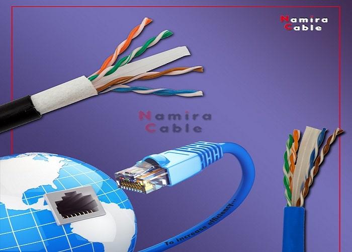 کابل شبکه Cat6 U/UTP