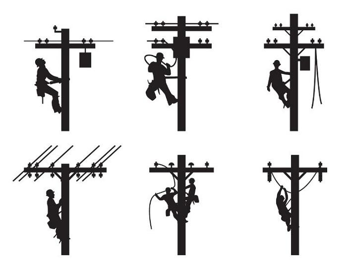 توزیع برق هوایی
