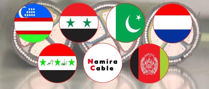 صادرات کابل برق از ایران
