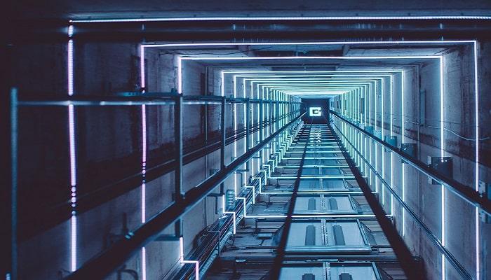 ارتفاع چاه آسانسور