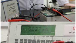 اندازه گیری مقاومت هادی کابل
