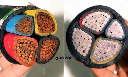 قیمت کابل 240*3 به اضافه 120