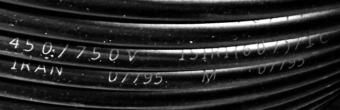 مشخصات کابل 10*3 افشان