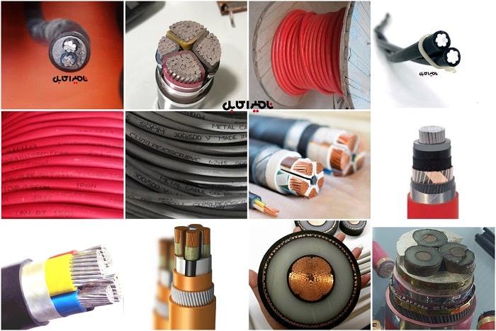 انواع کابل با عایق XLPE